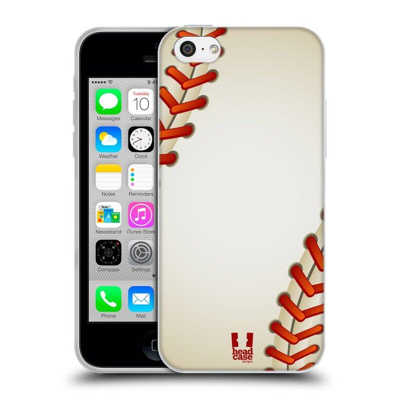Silikonové pouzdro na mobil Apple iPhone 5C HEAD CASE KRIKEŤÁK (Silikonový kryt či obal na mobilní telefon Apple iPhone 5C)