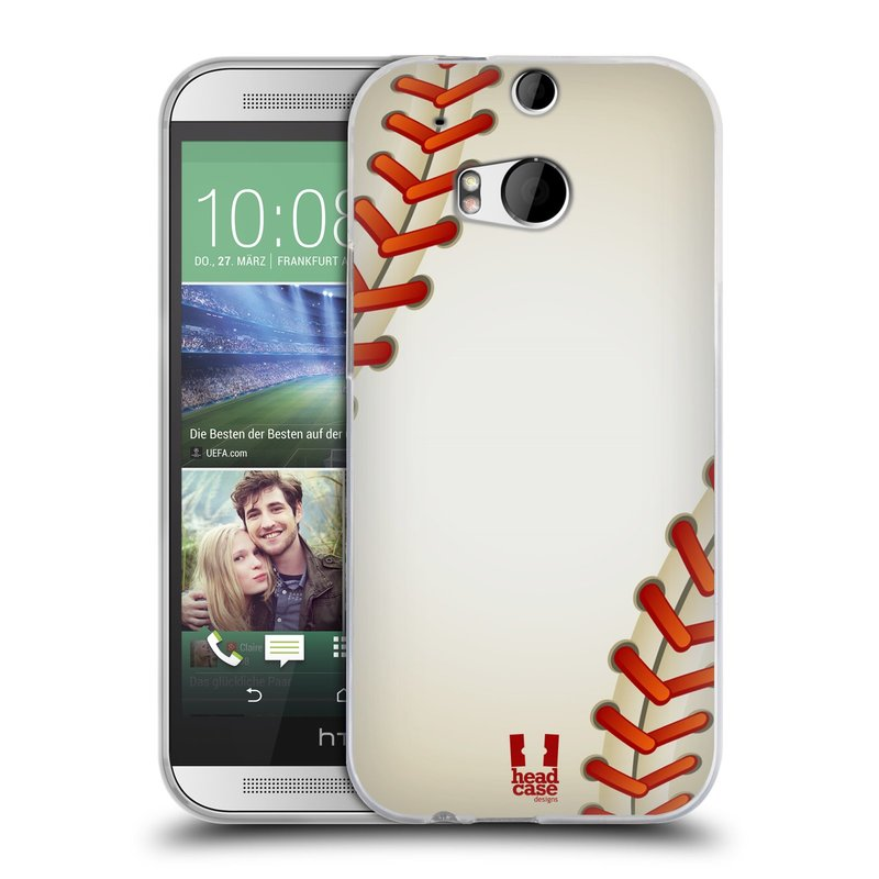 Silikonové pouzdro na mobil HTC ONE M8 HEAD CASE KRIKEŤÁK (Silikonový kryt či obal na mobilní telefon HTC ONE M8)