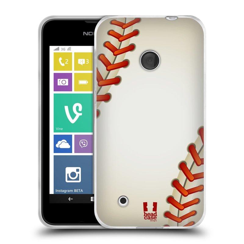 Silikonové pouzdro na mobil Nokia Lumia 530 HEAD CASE KRIKEŤÁK (Silikonový kryt či obal na mobilní telefon Nokia Lumia 530)
