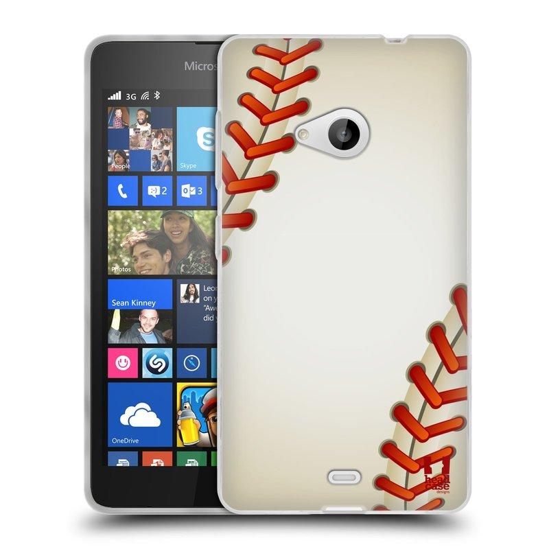 Silikonové pouzdro na mobil Microsoft Lumia 535 HEAD CASE KRIKEŤÁK (Silikonový kryt či obal na mobilní telefon Microsoft Lumia 535)