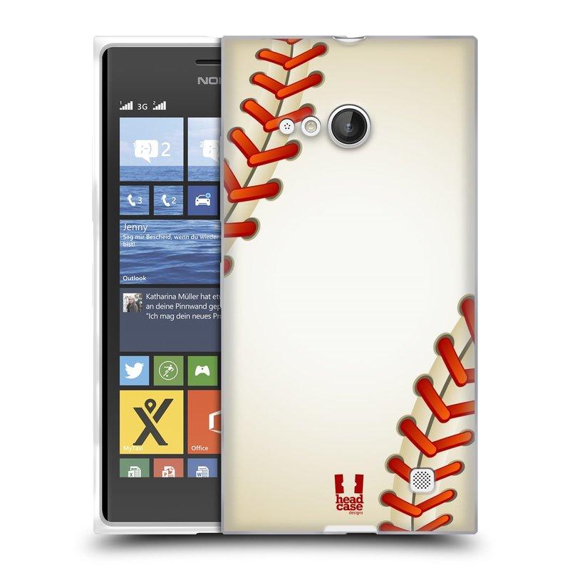 Silikonové pouzdro na mobil Nokia Lumia 735 HEAD CASE KRIKEŤÁK (Silikonový kryt či obal na mobilní telefon Nokia Lumia 735)