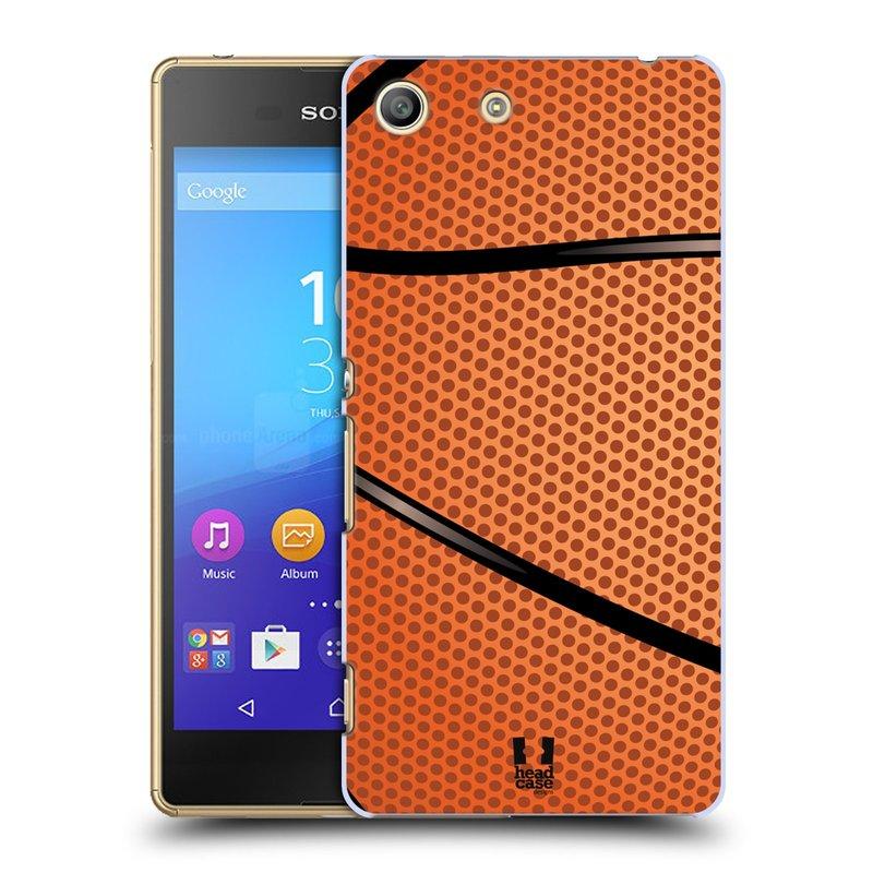 Plastové pouzdro na mobil Sony Xperia M5 HEAD CASE BASKEŤÁK (Kryt či obal na mobilní telefon Sony Xperia M5 Aqua)