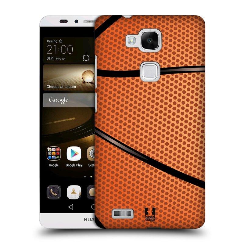 Plastové pouzdro na mobil Huawei Ascend Mate 7 HEAD CASE BASKEŤÁK (Kryt či obal na mobilní telefon Huawei Ascend Mate7)