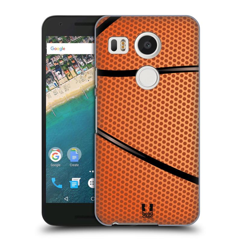 Plastové pouzdro na mobil LG Nexus 5X HEAD CASE BASKEŤÁK (Kryt či obal na mobilní telefon LG NEXUS 5X H791)