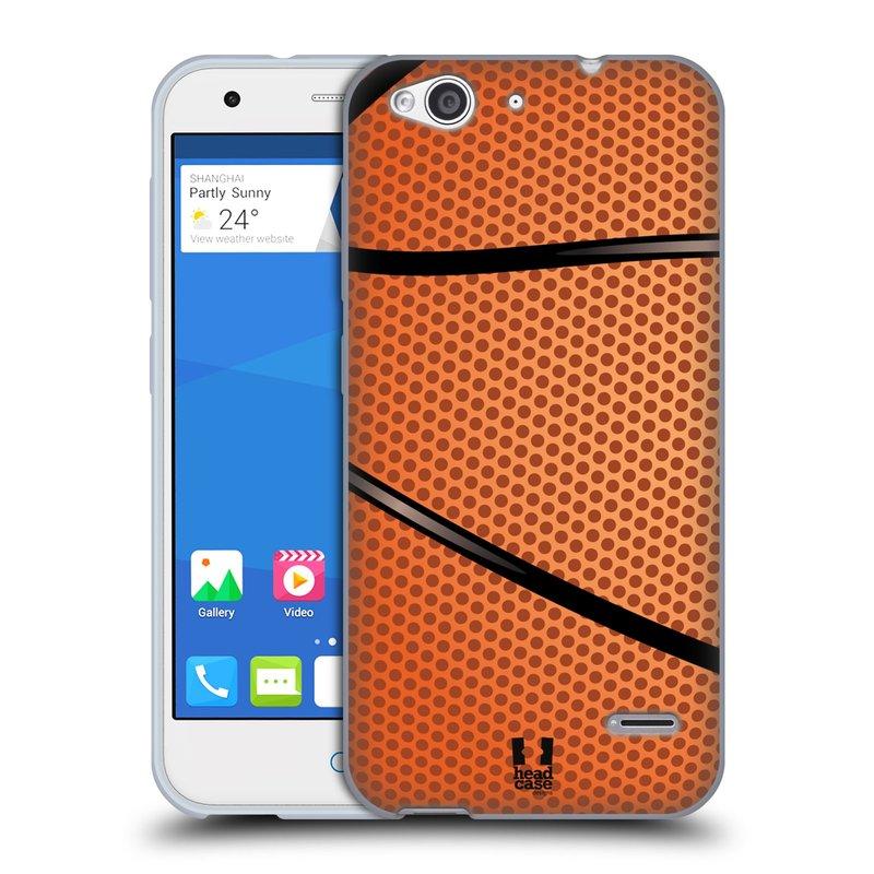 Silikonové pouzdro na mobil ZTE Blade S6 HEAD CASE BASKEŤÁK (Silikonový kryt či obal na mobilní telefon ZTE Blade S6)
