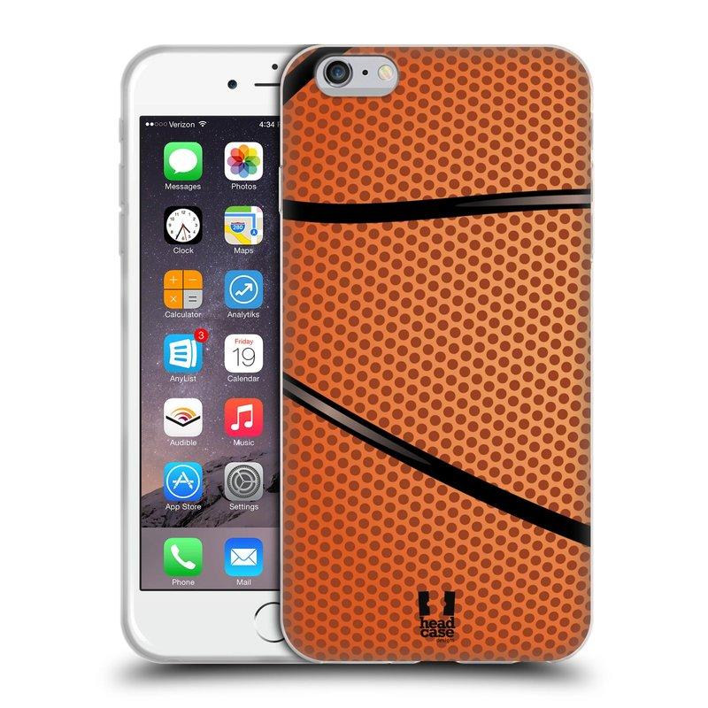 Silikonové pouzdro na mobil Apple iPhone 6 Plus a 6S Plus HEAD CASE BASKEŤÁK (Silikonový kryt či obal na mobilní telefon Apple iPhone 6 Plus a 6S Plus)