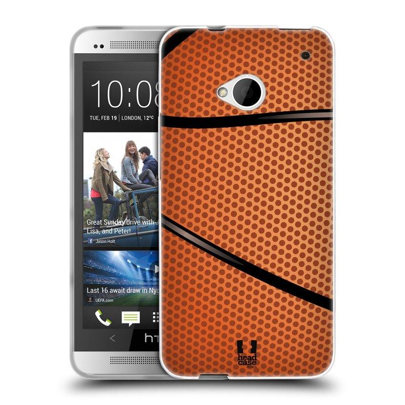 Silikonové pouzdro na mobil HTC ONE M7 HEAD CASE BASKEŤÁK (Silikonový kryt či obal na mobilní telefon HTC ONE M7)