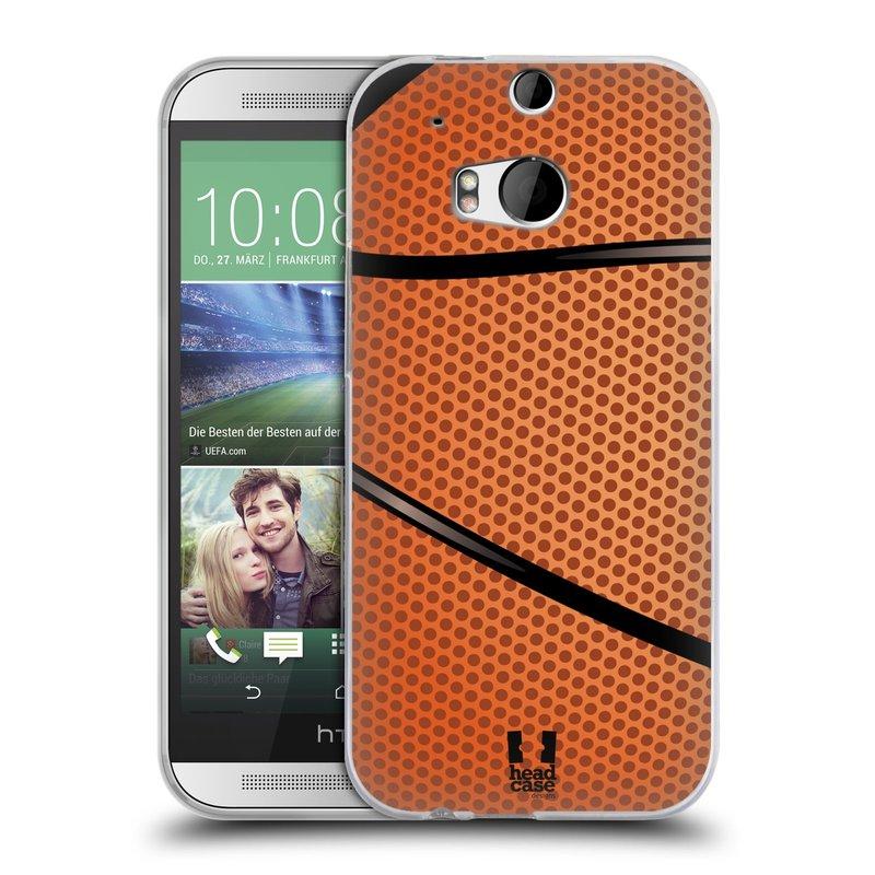 Silikonové pouzdro na mobil HTC ONE M8 HEAD CASE BASKEŤÁK (Silikonový kryt či obal na mobilní telefon HTC ONE M8)