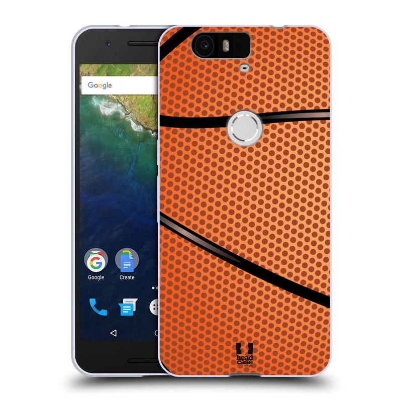 Silikonové pouzdro na mobil Huawei Nexus 6P HEAD CASE BASKEŤÁK (Silikonový kryt či obal na mobilní telefon Huawei Nexus 6P)