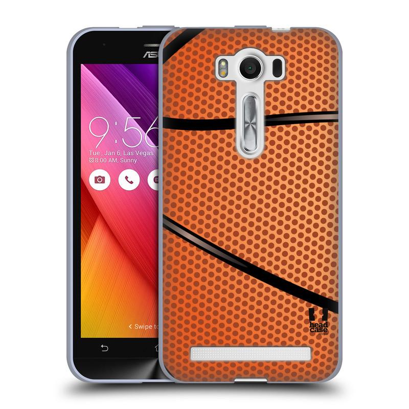 """Silikonové pouzdro na mobil Asus ZenFone 2 Laser ZE500KL HEAD CASE BASKEŤÁK (Silikonový kryt či obal na mobilní telefon Asus ZenFone 2 Laser ZE500KL s 5"""" displejem)"""