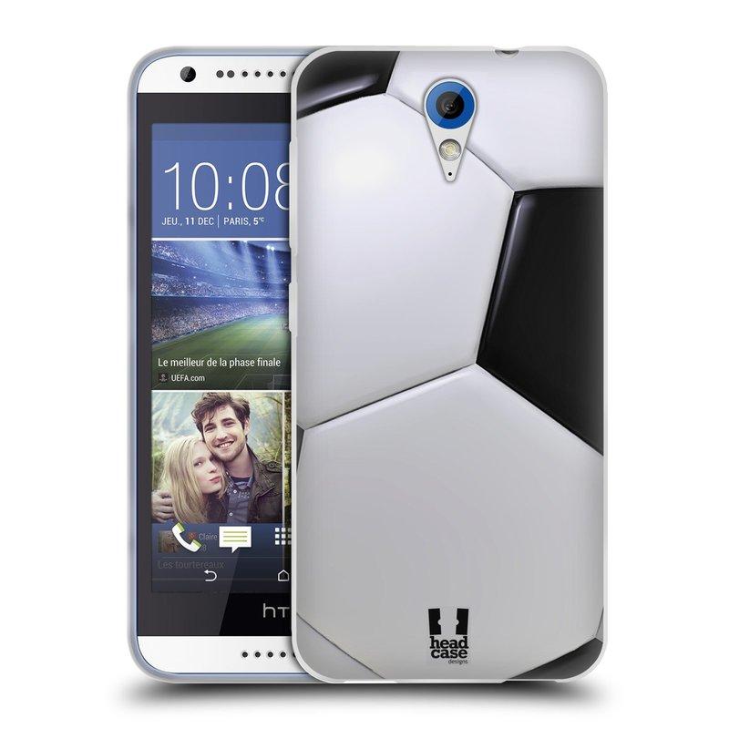 Silikonové pouzdro na mobil HTC Desire 620 HEAD CASE KOPAČÁK (Silikonový kryt či obal na mobilní telefon HTC Desire 620)
