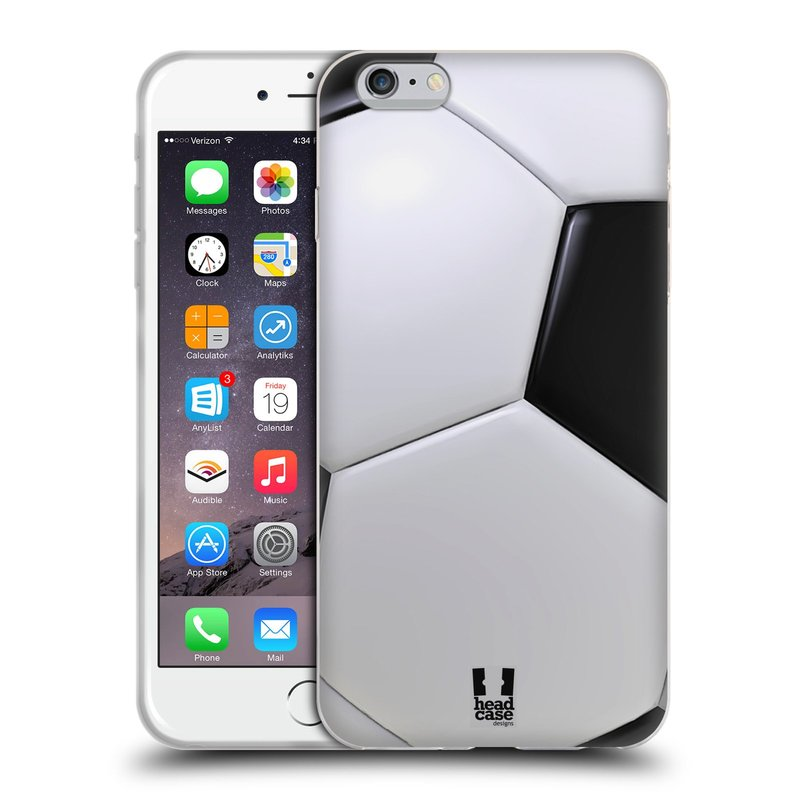 Silikonové pouzdro na mobil Apple iPhone 6 Plus a 6S Plus HEAD CASE KOPAČÁK (Silikonový kryt či obal na mobilní telefon Apple iPhone 6 Plus a 6S Plus)