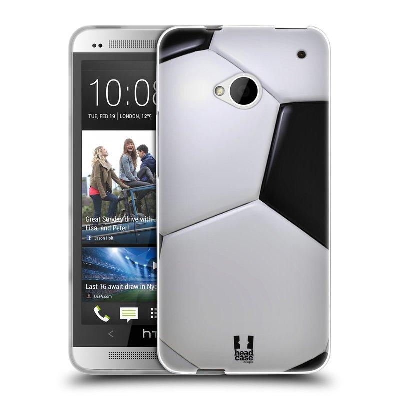 Silikonové pouzdro na mobil HTC ONE M7 HEAD CASE KOPAČÁK (Silikonový kryt či obal na mobilní telefon HTC ONE M7)