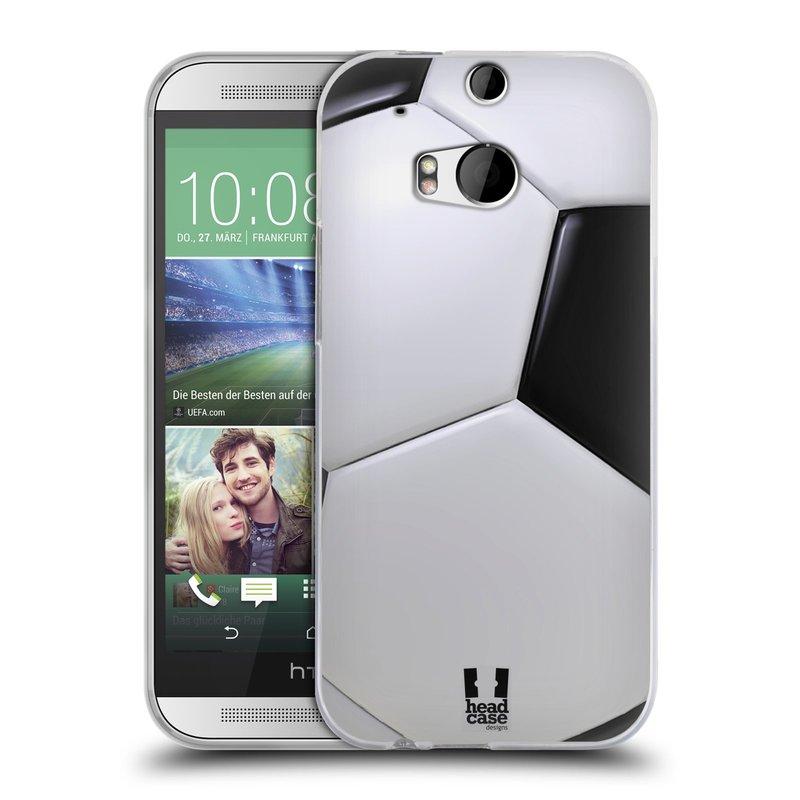 Silikonové pouzdro na mobil HTC ONE M8 HEAD CASE KOPAČÁK (Silikonový kryt či obal na mobilní telefon HTC ONE M8)