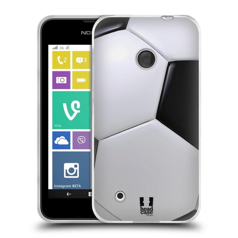 Silikonové pouzdro na mobil Nokia Lumia 530 HEAD CASE KOPAČÁK (Silikonový kryt či obal na mobilní telefon Nokia Lumia 530)