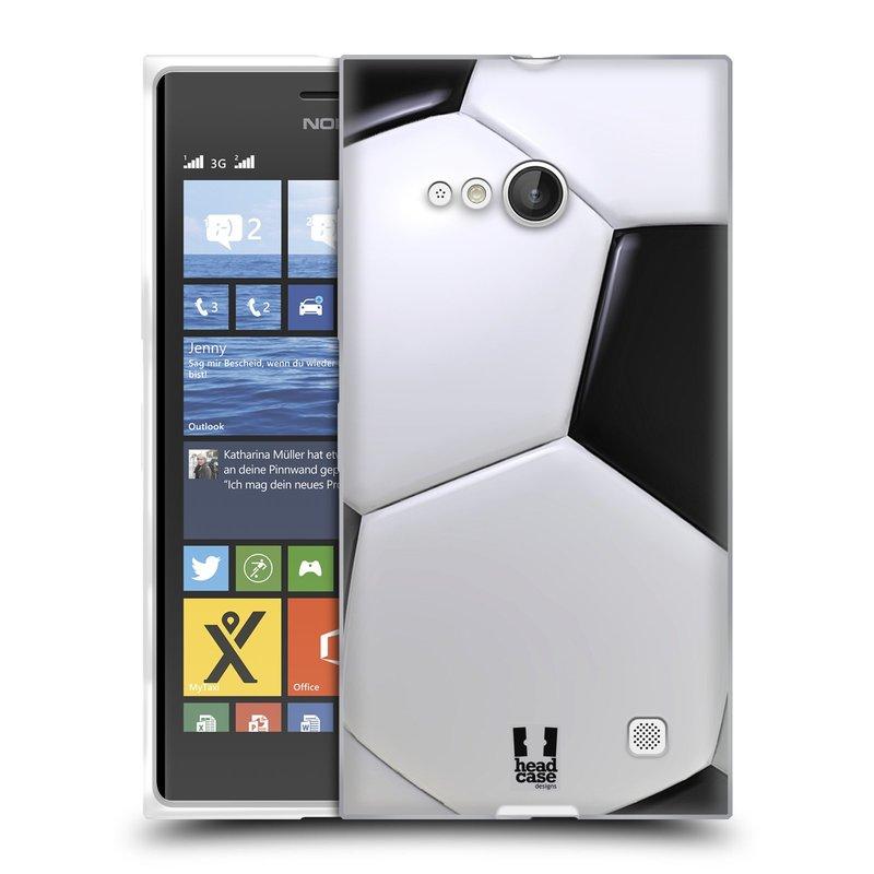 Silikonové pouzdro na mobil Nokia Lumia 735 HEAD CASE KOPAČÁK (Silikonový kryt či obal na mobilní telefon Nokia Lumia 735)