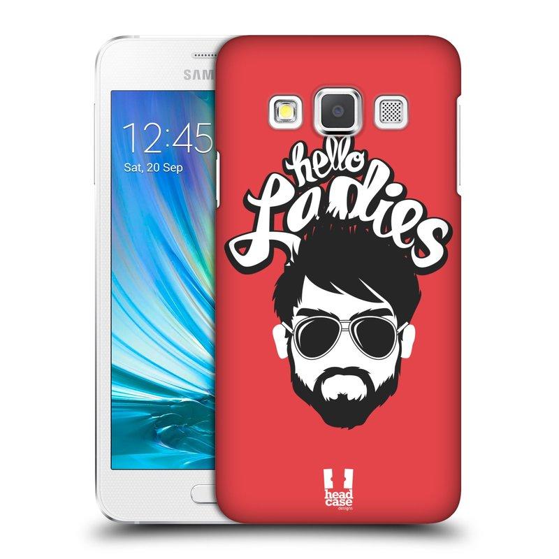 Plastové pouzdro na mobil Samsung Galaxy A3 HEAD CASE KNÍRAČ HELLO LADIES (Kryt či obal na mobilní telefon Samsung Galaxy A3 SM-A300)