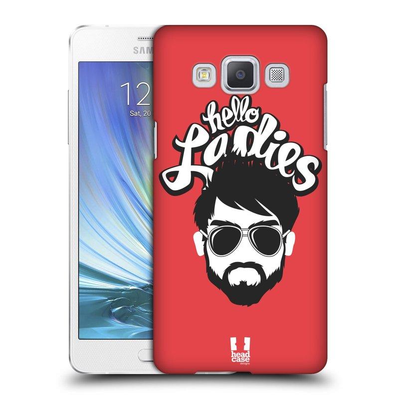 Plastové pouzdro na mobil Samsung Galaxy A5 HEAD CASE KNÍRAČ HELLO LADIES (Kryt či obal na mobilní telefon Samsung Galaxy A5 SM-A500)