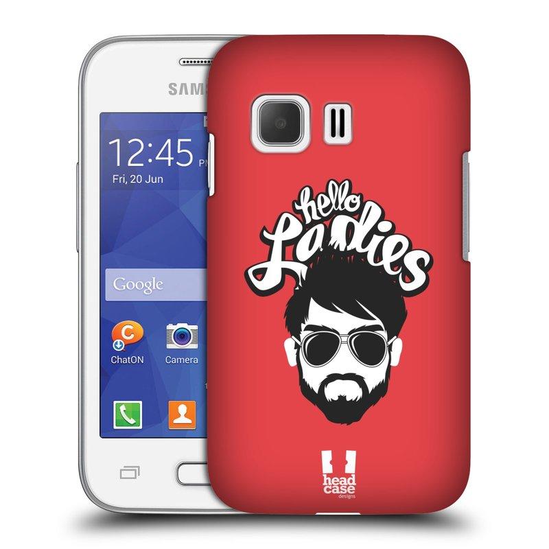 Plastové pouzdro na mobil Samsung Galaxy Young 2 HEAD CASE KNÍRAČ HELLO LADIES (Kryt či obal na mobilní telefon Samsung Galaxy Young 2 SM-G130)