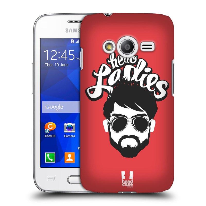 Plastové pouzdro na mobil Samsung Galaxy Trend 2 Lite HEAD CASE KNÍRAČ HELLO LADIES (Kryt či obal na mobilní telefon Samsung Galaxy Trend 2 Lite SM-G318)