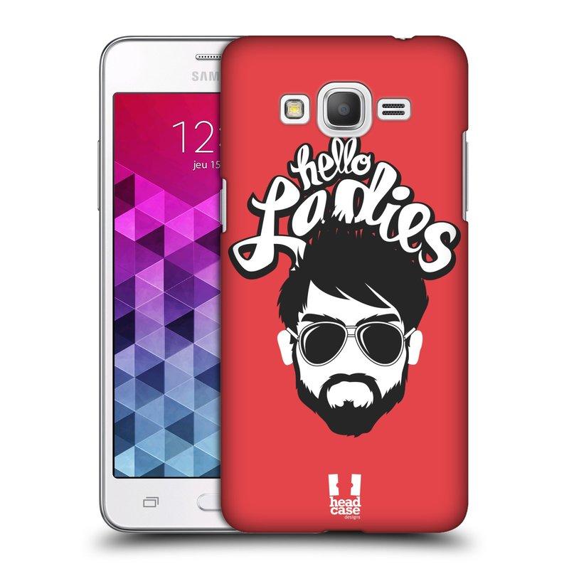 Plastové pouzdro na mobil Samsung Galaxy Grand Prime VE HEAD CASE KNÍRAČ HELLO LADIES (Kryt či obal na mobilní telefon Samsung Galaxy Grand Prime VE SM-G531F)