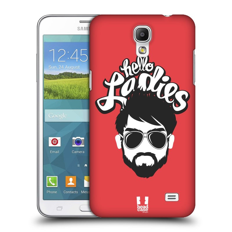 Plastové pouzdro na mobil Samsung Galaxy Grand Mega 2 HEAD CASE KNÍRAČ HELLO LADIES (Kryt či obal na mobilní telefon Samsung Galaxy Grand Mega 2 SM-G750)