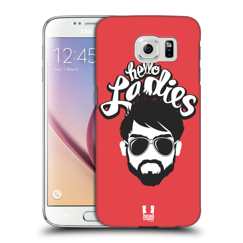 Plastové pouzdro na mobil Samsung Galaxy S6 HEAD CASE KNÍRAČ HELLO LADIES (Kryt či obal na mobilní telefon Samsung Galaxy S6 SM-G920F)