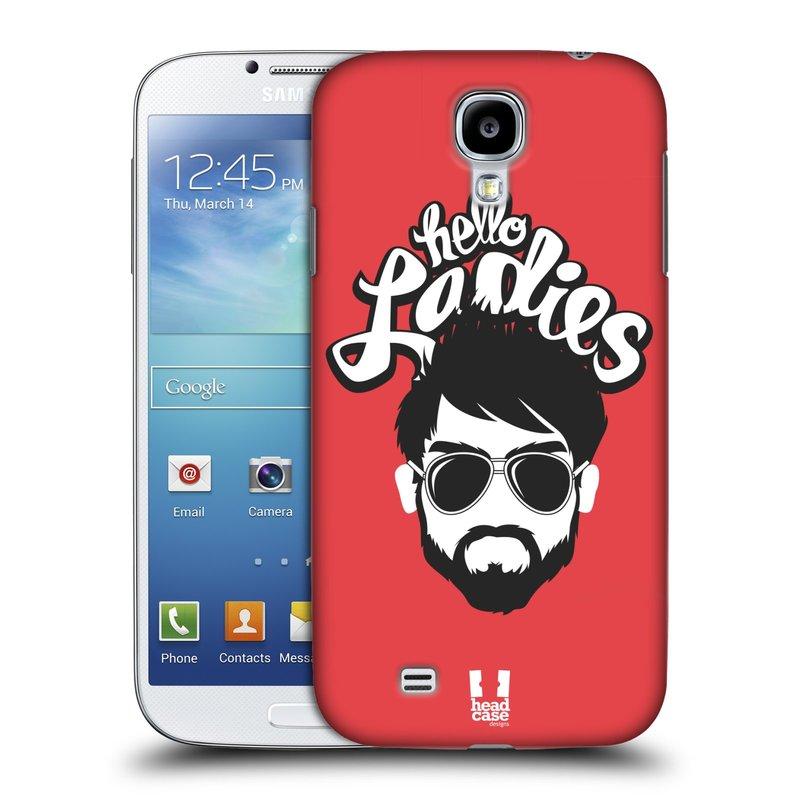Plastové pouzdro na mobil Samsung Galaxy S4 HEAD CASE KNÍRAČ HELLO LADIES (Kryt či obal na mobilní telefon Samsung Galaxy S4 GT-i9505 / i9500)