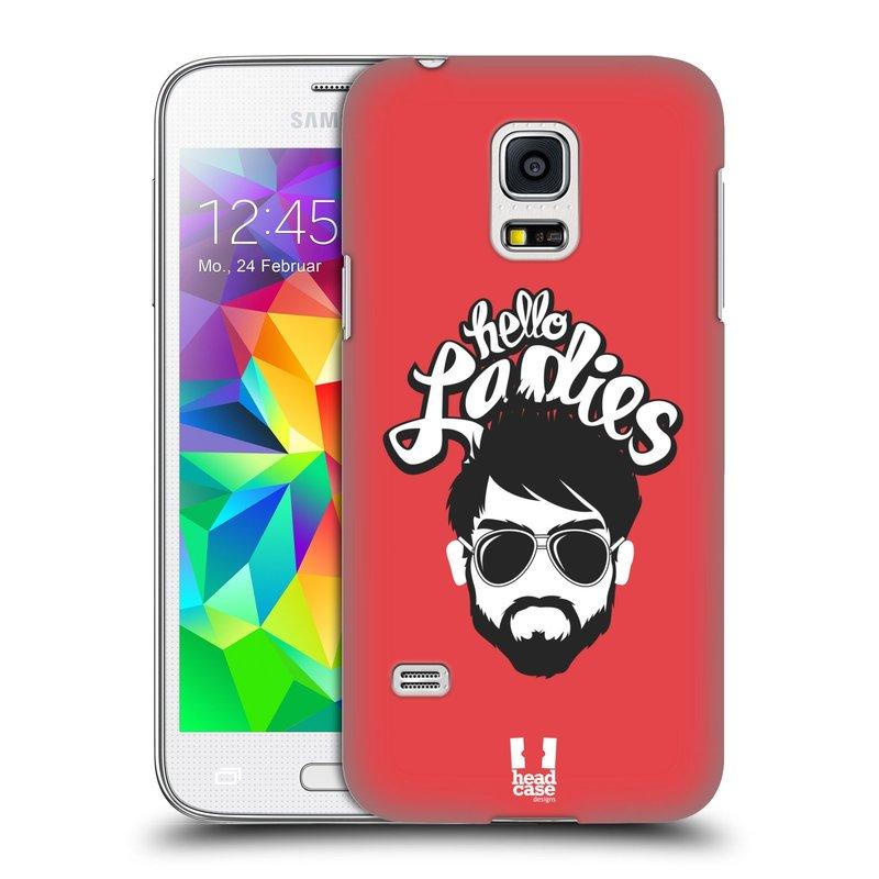 Plastové pouzdro na mobil Samsung Galaxy S5 Mini HEAD CASE KNÍRAČ HELLO LADIES (Kryt či obal na mobilní telefon Samsung Galaxy S5 Mini SM-G800F)