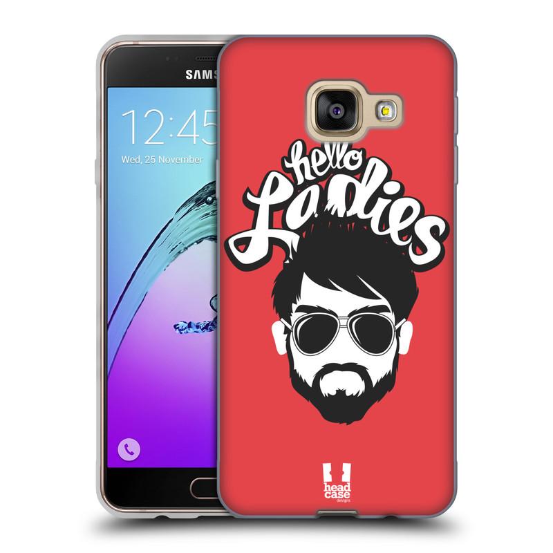 Silikonové pouzdro na mobil Samsung Galaxy A3 (2016) HEAD CASE KNÍRAČ HELLO LADIES (Silikonový kryt či obal na mobilní telefon Samsung Galaxy A3 (2016) SM-A310F)