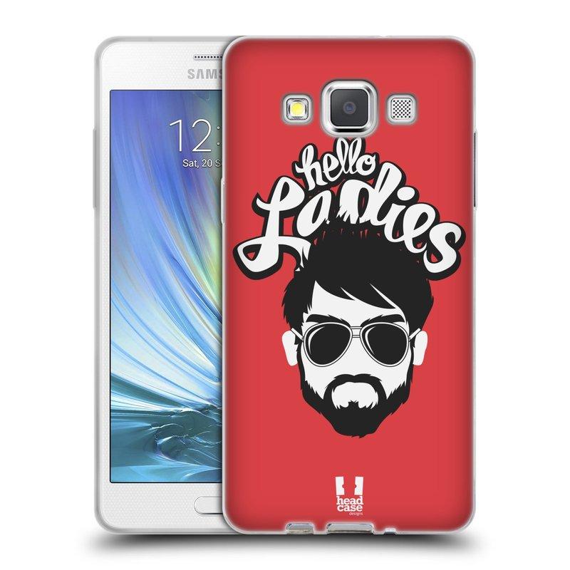 Silikonové pouzdro na mobil Samsung Galaxy A5 HEAD CASE KNÍRAČ HELLO LADIES (Silikonový kryt či obal na mobilní telefon Samsung Galaxy A5 SM-A500)