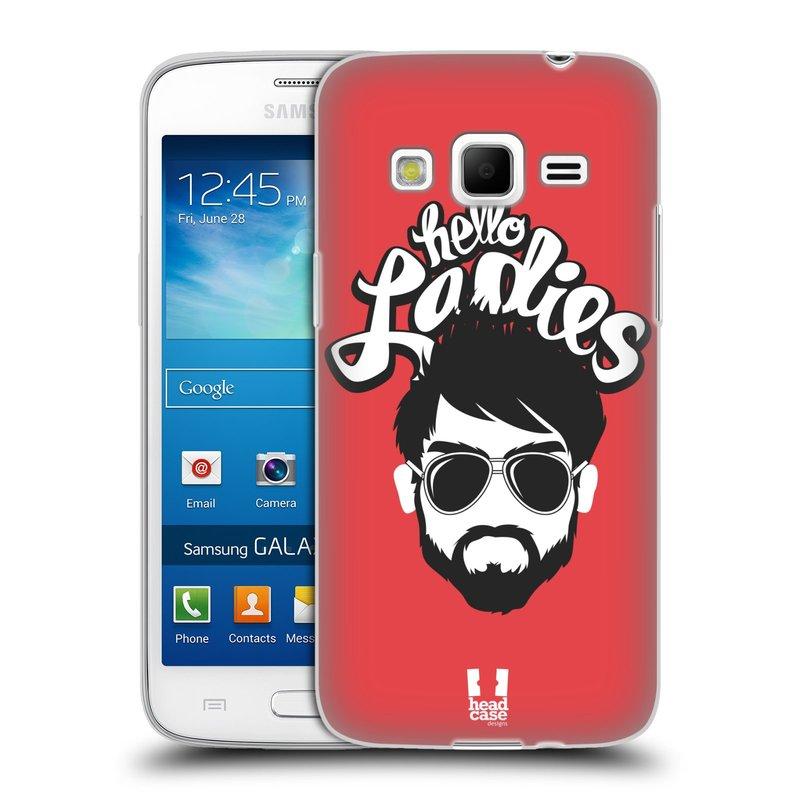 Silikonové pouzdro na mobil Samsung Galaxy Express 2 HEAD CASE KNÍRAČ HELLO LADIES (Silikonový kryt či obal na mobilní telefon Samsung Galaxy Express 2 SM-G3815)