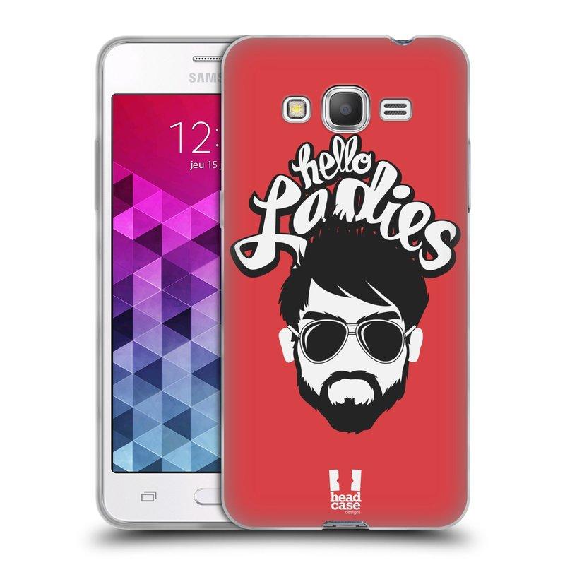 Silikonové pouzdro na mobil Samsung Galaxy Grand Prime HEAD CASE KNÍRAČ HELLO LADIES (Silikonový kryt či obal na mobilní telefon Samsung Galaxy Grand Prime SM-G530)