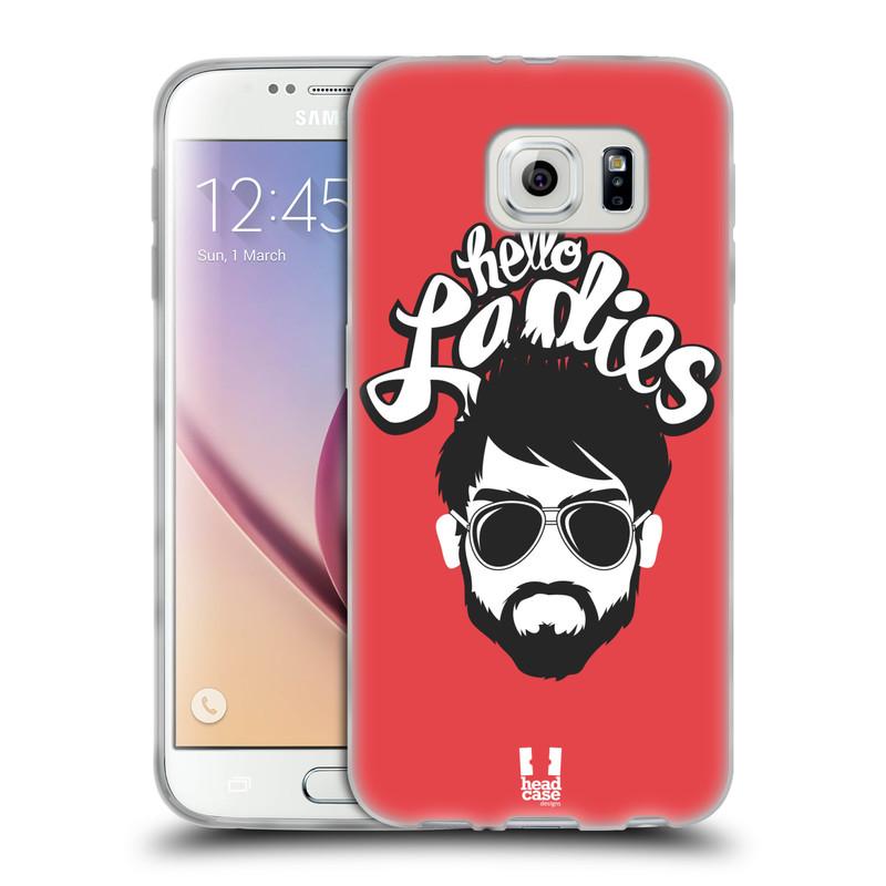 Silikonové pouzdro na mobil Samsung Galaxy S6 HEAD CASE KNÍRAČ HELLO LADIES (Silikonový kryt či obal na mobilní telefon Samsung Galaxy S6 SM-G920F)