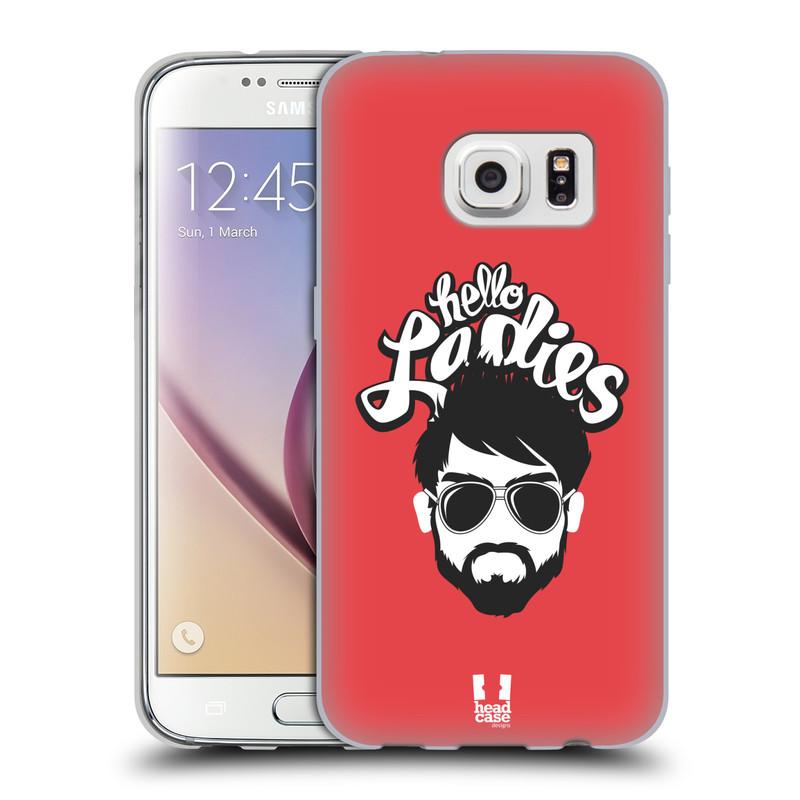 Silikonové pouzdro na mobil Samsung Galaxy S7 HEAD CASE KNÍRAČ HELLO LADIES (Silikonový kryt či obal na mobilní telefon Samsung Galaxy S7 SM-G930F)