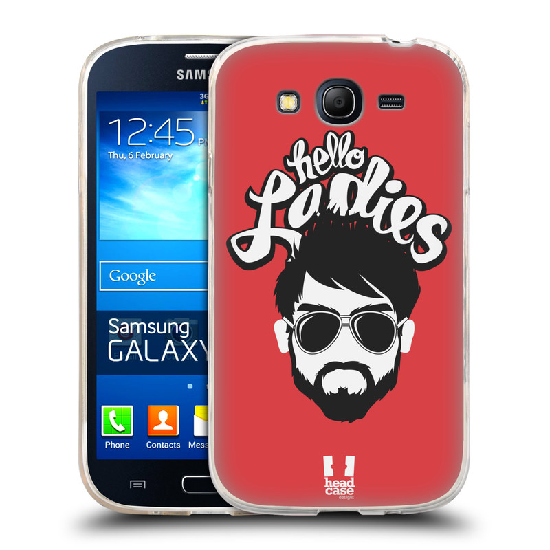 Silikonové pouzdro na mobil Samsung Galaxy Grand Neo HEAD CASE KNÍRAČ HELLO LADIES (Silikonový kryt či obal na mobilní telefon Samsung Galaxy Grand Neo GT-I9060)