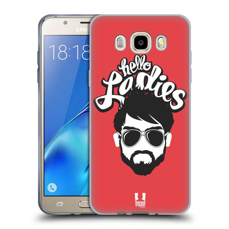 Silikonové pouzdro na mobil Samsung Galaxy J5 (2016) HEAD CASE KNÍRAČ HELLO LADIES (Silikonový kryt či obal na mobilní telefon Samsung Galaxy J5 (2016) SM-J510)