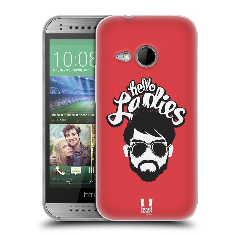 Silikonové pouzdro na mobil HTC ONE Mini 2 HEAD CASE KNÍRAČ HELLO LADIES (Silikonový kryt či obal na mobilní telefon HTC ONE Mini 2)
