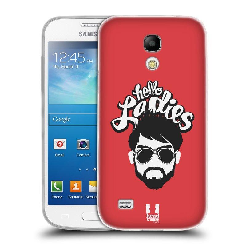 Silikonové pouzdro na mobil Samsung Galaxy S4 Mini VE HEAD CASE KNÍRAČ HELLO LADIES (Silikonový kryt či obal na mobilní telefon Samsung Galaxy S4 Mini VE GT-i9195i (nepasuje na verzi Black Edition))