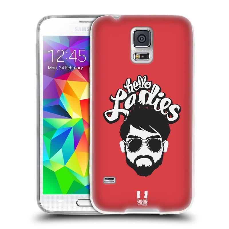 Silikonové pouzdro na mobil Samsung Galaxy S5 HEAD CASE KNÍRAČ HELLO LADIES (Silikonový kryt či obal na mobilní telefon Samsung Galaxy S5 SM-G900F)