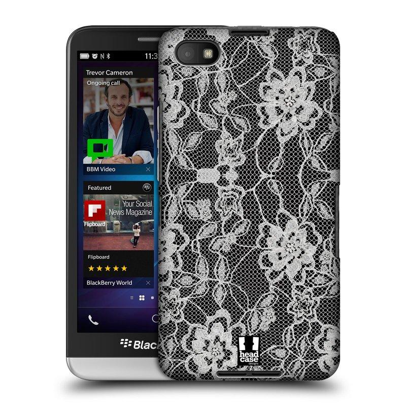 Plastové pouzdro na mobil Blackberry Z30 HEAD CASE FLOWERY KRAJKA (Kryt či obal na mobilní telefon Blackberry Z30)