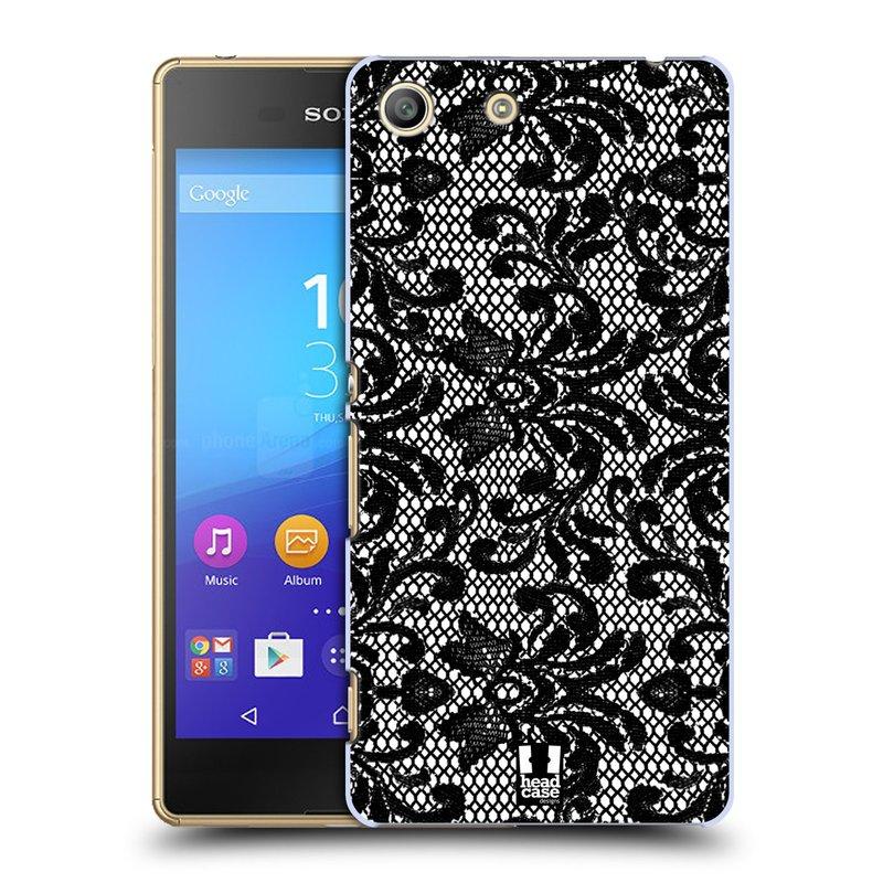 Plastové pouzdro na mobil Sony Xperia M5 HEAD CASE KRAJKA (Kryt či obal na mobilní telefon Sony Xperia M5 Aqua)