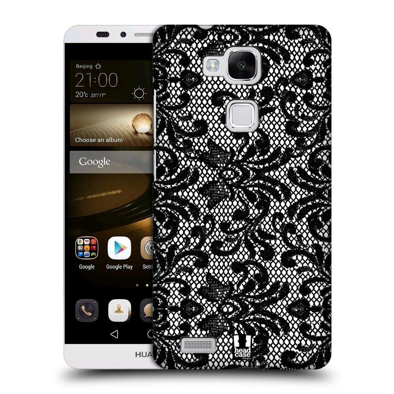 Plastové pouzdro na mobil Huawei Ascend Mate 7 HEAD CASE KRAJKA (Kryt či obal na mobilní telefon Huawei Ascend Mate7)