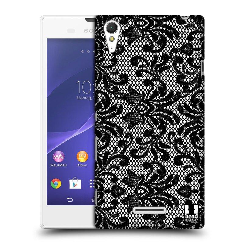Plastové pouzdro na mobil Sony Xperia T3 D5103 HEAD CASE KRAJKA (Kryt či obal na mobilní telefon Sony Xperia T3 )