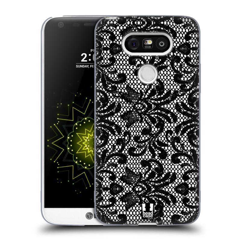 Silikonové pouzdro na mobil LG G5 HEAD CASE KRAJKA (Silikonový kryt či obal na mobilní telefon LG G5 H850)