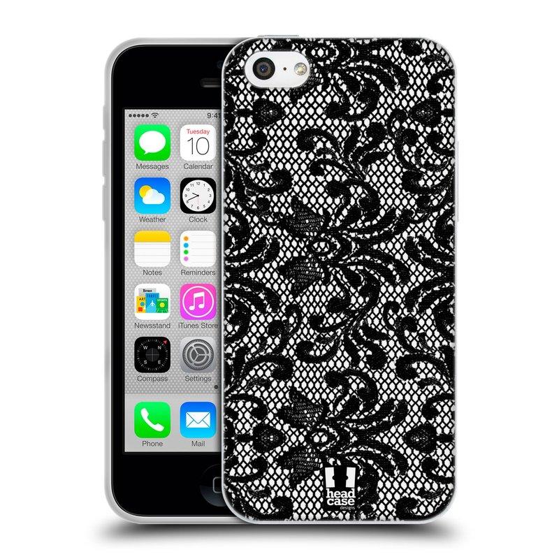 Silikonové pouzdro na mobil Apple iPhone 5C HEAD CASE KRAJKA (Silikonový kryt či obal na mobilní telefon Apple iPhone 5C)
