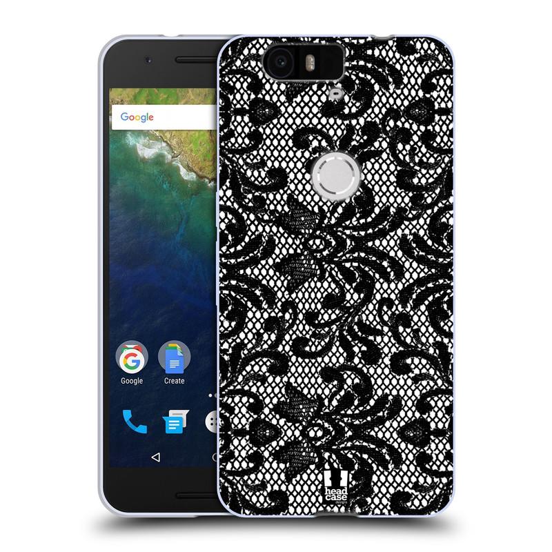 Silikonové pouzdro na mobil Huawei Nexus 6P HEAD CASE KRAJKA (Silikonový kryt či obal na mobilní telefon Huawei Nexus 6P)