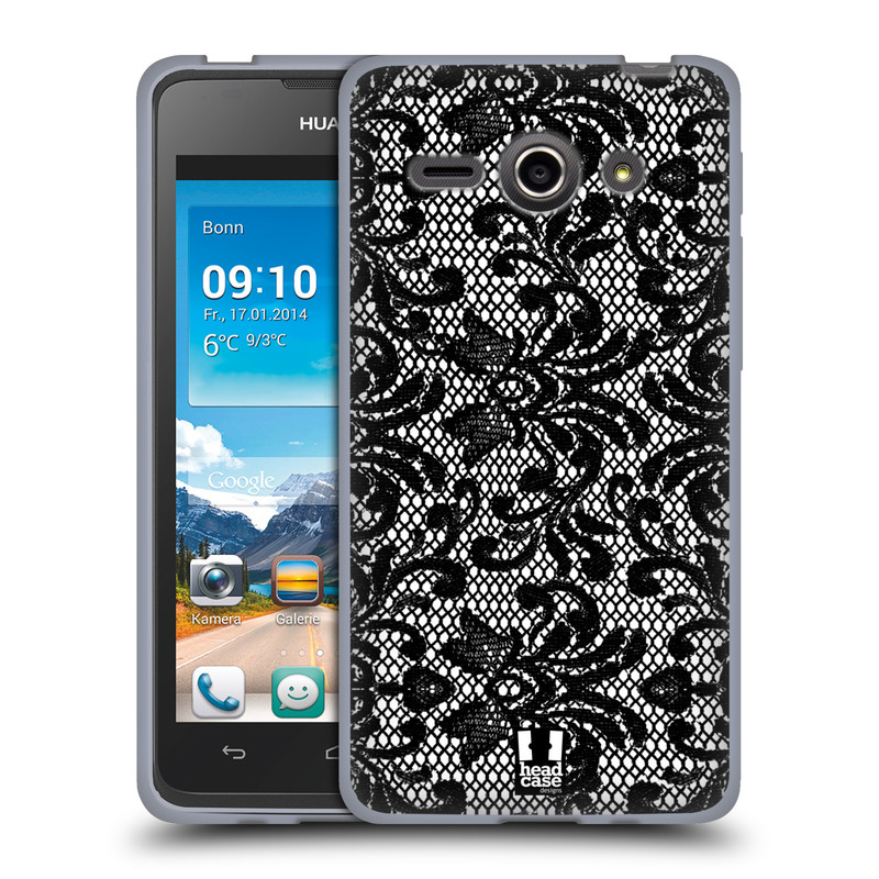 Silikonové pouzdro na mobil Huawei Ascend Y530 HEAD CASE KRAJKA (Silikonový kryt či obal na mobilní telefon Huawei Ascend Y530)