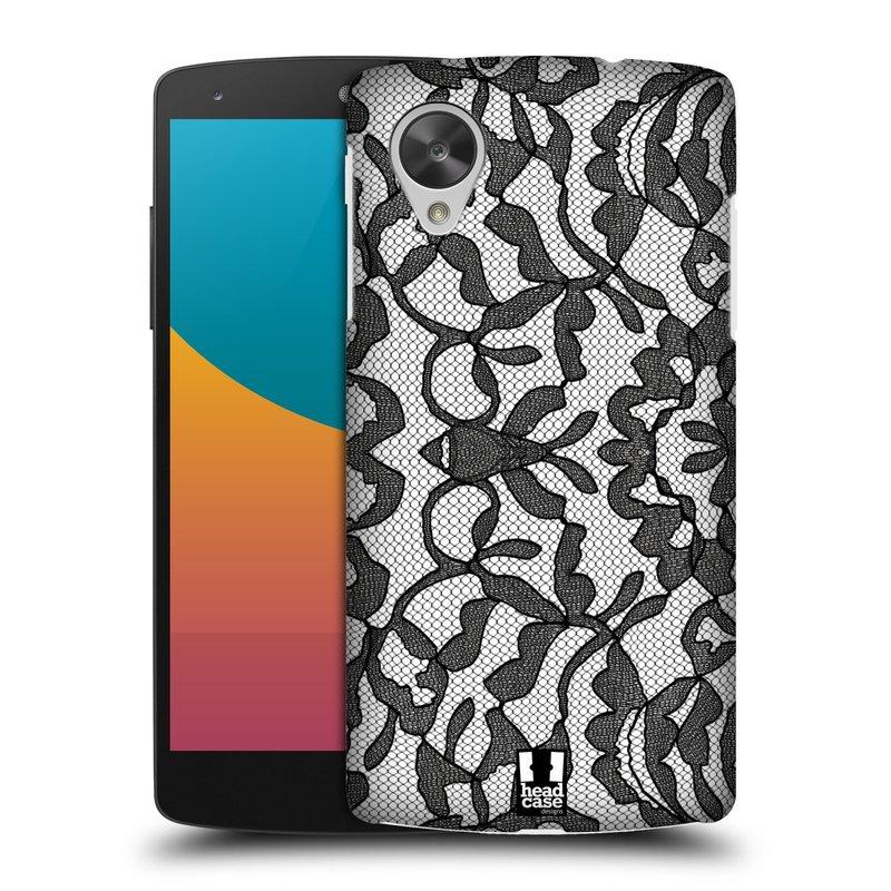 Plastové pouzdro na mobil LG Nexus 5 HEAD CASE LEAFY KRAJKA (Kryt či obal na mobilní telefon LG Google Nexus 5 D821)