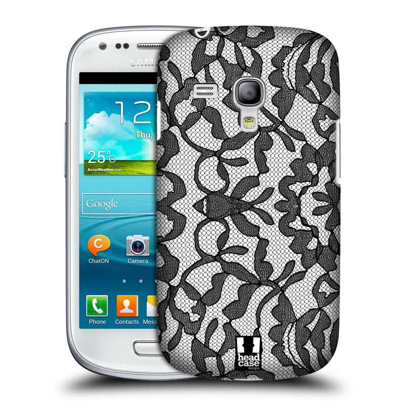 Plastové pouzdro na mobil Samsung Galaxy S III Mini HEAD CASE LEAFY KRAJKA (Kryt či obal na mobilní telefon Samsung Galaxy S III Mini GT-i8190)